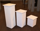 Set of 6 plinths (heights x2 each)