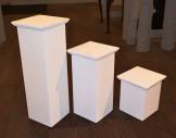 Set of 6 plinths (heights x2 each)