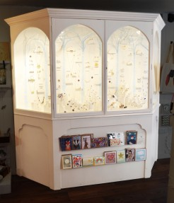 Bespoke display cabinet